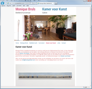Monique Bruls / Kamer voor Kunst